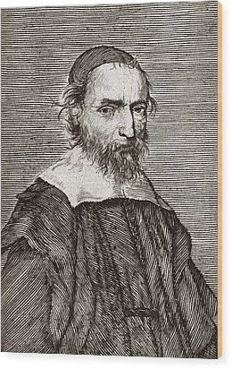 Nicolas Fabri De Peiresc, Astronomer Wood Print by Middle Temple Library