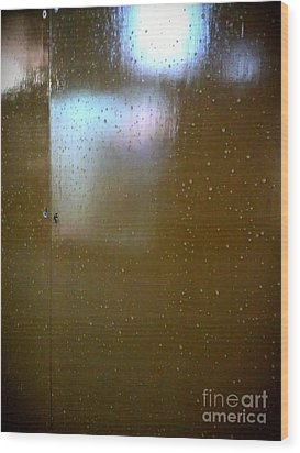 Night After Rain Wood Print by Eena Bo