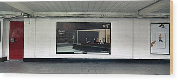 Nighthawks At Earls Court Wood Print