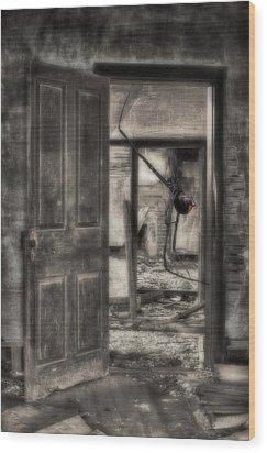 Nightmares Wood Print by JC Findley