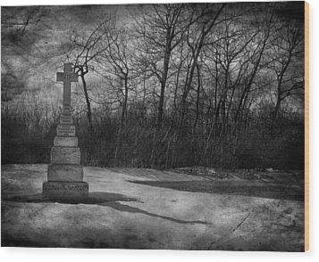 Nine O Clock Shine  Wood Print by Empty Wall