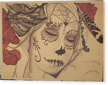 No Evil Wood Print by Teresa Beyer