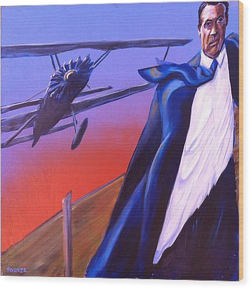 North By Northwest Wood Print by Buffalo Bonker