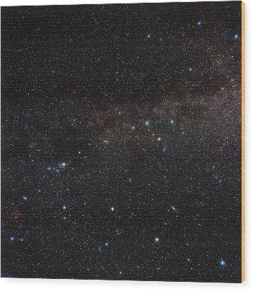 Northern Milky Way Wood Print by Eckhard Slawik