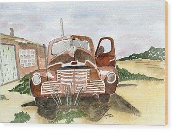 Nostalgic Wood Print by Eva Ason