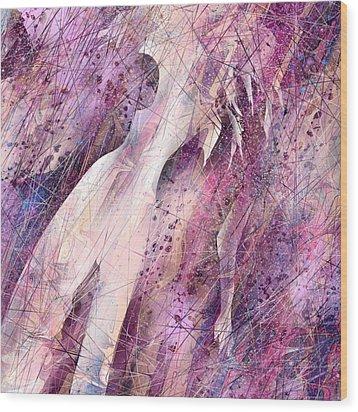 Not Forgotten Wood Print by Rachel Christine Nowicki