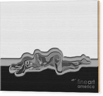 Numb Wood Print by Linda Seacord