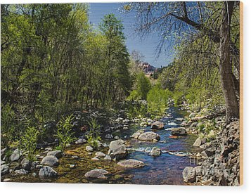 Oak Creek Wood Print by Robert Bales