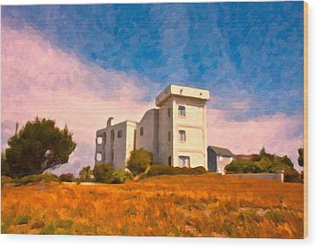 Observation Tower 1 Wood Print by Betsy Knapp