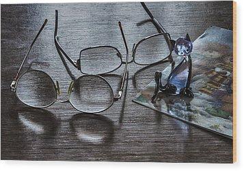 Occational Still Life Wood Print by Vladimir Kholostykh