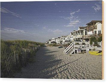 Wood Print featuring the photograph Ocean City Nj Sun Rise by Paul Plaine