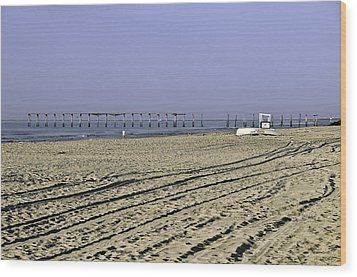 Wood Print featuring the photograph Ocean City Nj The Old Pier by Paul Plaine