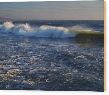 Ocean Of The God Series Wood Print