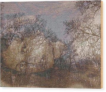 Ofelia Wood Print by Ellie Perla