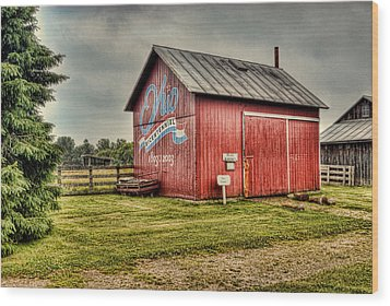 Wood Print featuring the photograph Ohio Barn by Mary Timman