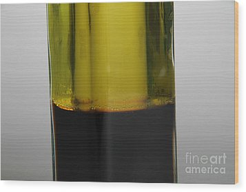 Oil And Vinegar Wood Print by Photo Researchers
