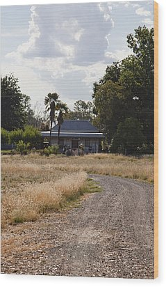 Wood Print featuring the photograph Old Australian Home by Carole Hinding