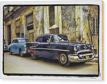 Old Car 1 Wood Print by Mauro Celotti