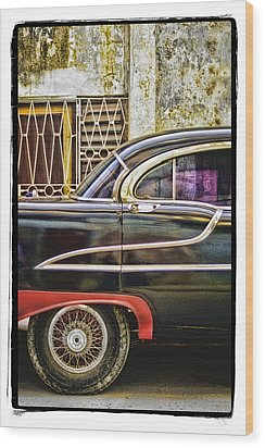 Old Car 2 Wood Print by Mauro Celotti