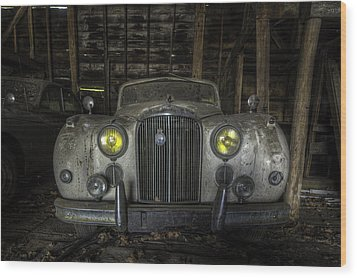 Old Car Wood Print by Nick  Shirghio