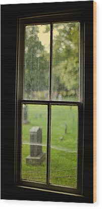 Old Church Window Wood Print by James Massey