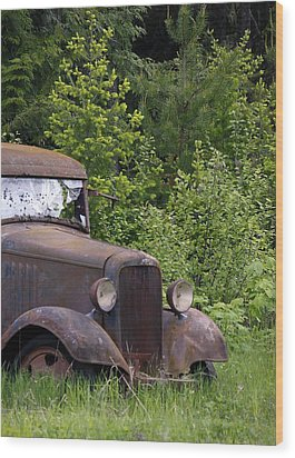 Wood Print featuring the photograph Old Classic by Steve McKinzie