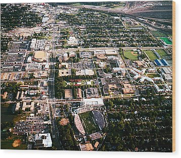 Old Dominion Campus Aerial Photograph By Old Dominion