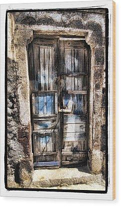 Old Door Wood Print by Mauro Celotti