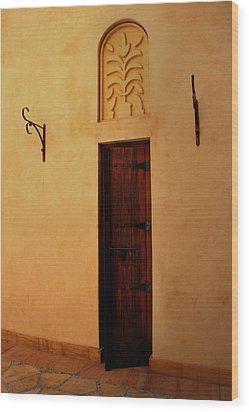 Old Door Wood Print by Radoslav Nedelchev