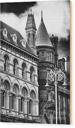 Old Dublin Wood Print by John Rizzuto