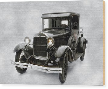 Wood Print featuring the photograph Old Ford by Gary Rose