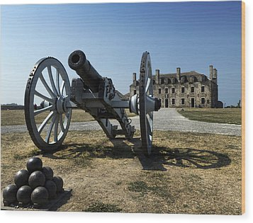 Old Fort Niagara Wood Print by Peter Chilelli