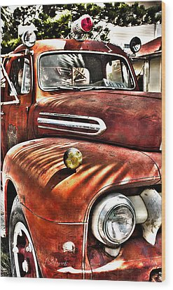 Old Glory Days Limited Edition Wood Print by Robin Lewis