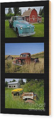 Old Guys 6 Wood Print by Idaho Scenic Images Linda Lantzy