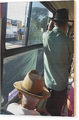 Wood Print featuring the photograph Old Hat by Beto Machado