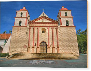 Old Mission Wood Print by Steven Ainsworth