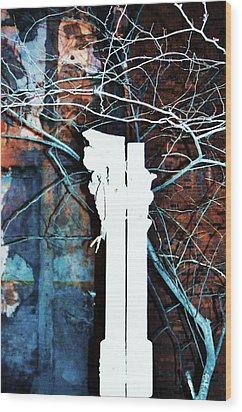 Old Sacramento-2 Wood Print by Todd Sherlock