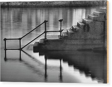 Old Stairway Wood Print by Ander Aguirre photography