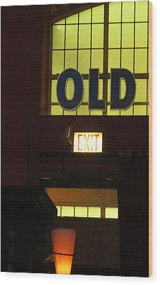 old Wood Print by Todd Sherlock