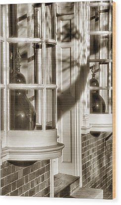 Old Town Windows Wood Print by Steven Ainsworth
