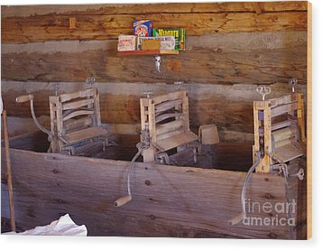 Wood Print featuring the photograph Old West 2 by Deniece Platt