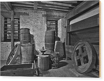Old West Wood Print