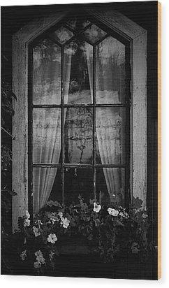 Old Window Wood Print by Micael  Carlsson