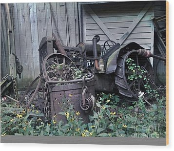 Wood Print featuring the photograph Older Days by Janice Spivey