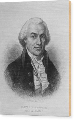 Oliver Ellsworth 1745-1807, U.s Wood Print by Everett