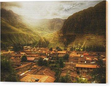 Ollantaytambo Wood Print