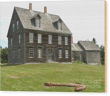 Olson House Wood Print by Theresa Willingham