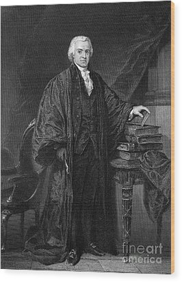 Olvier Ellsworth (1745-1807). Chief Justice Of The United States Supreme Court, 1796-1799. Steel Engraving, 1863 Wood Print by Granger