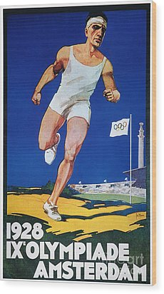 Olympic Games, 1928 Wood Print by Granger