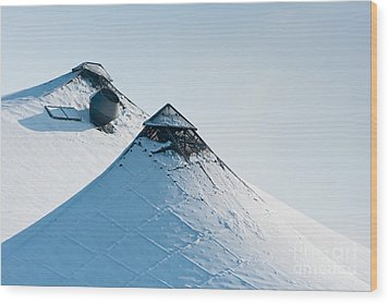 Wood Print featuring the photograph Olympic Snow by Andrew  Michael